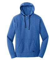 New Era® Men's Tri-Blend Fleece Pullover Hoodie