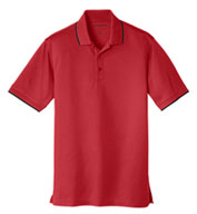 Port Authority Men's Dry Zone UV Micro Mesh Tipped Polo