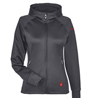 Spyder Ladies' Hayer Full-Zip Hooded Fleece Jacket