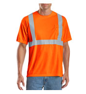Men's ANSI 107 Class 2 Safety T-Shirt